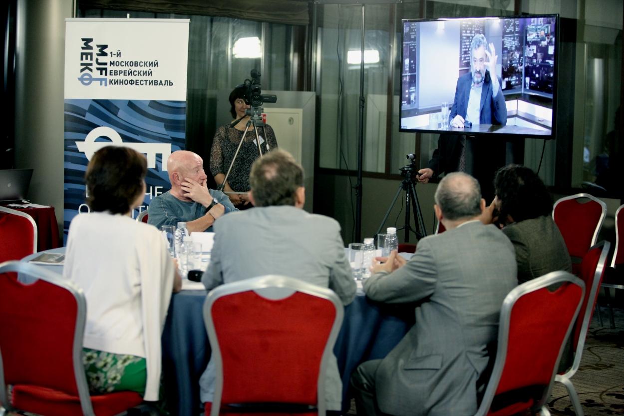 На экране - говорит Семен Винокур, режиссер, сценарист, продюсер, лауреат Израильского Оскара