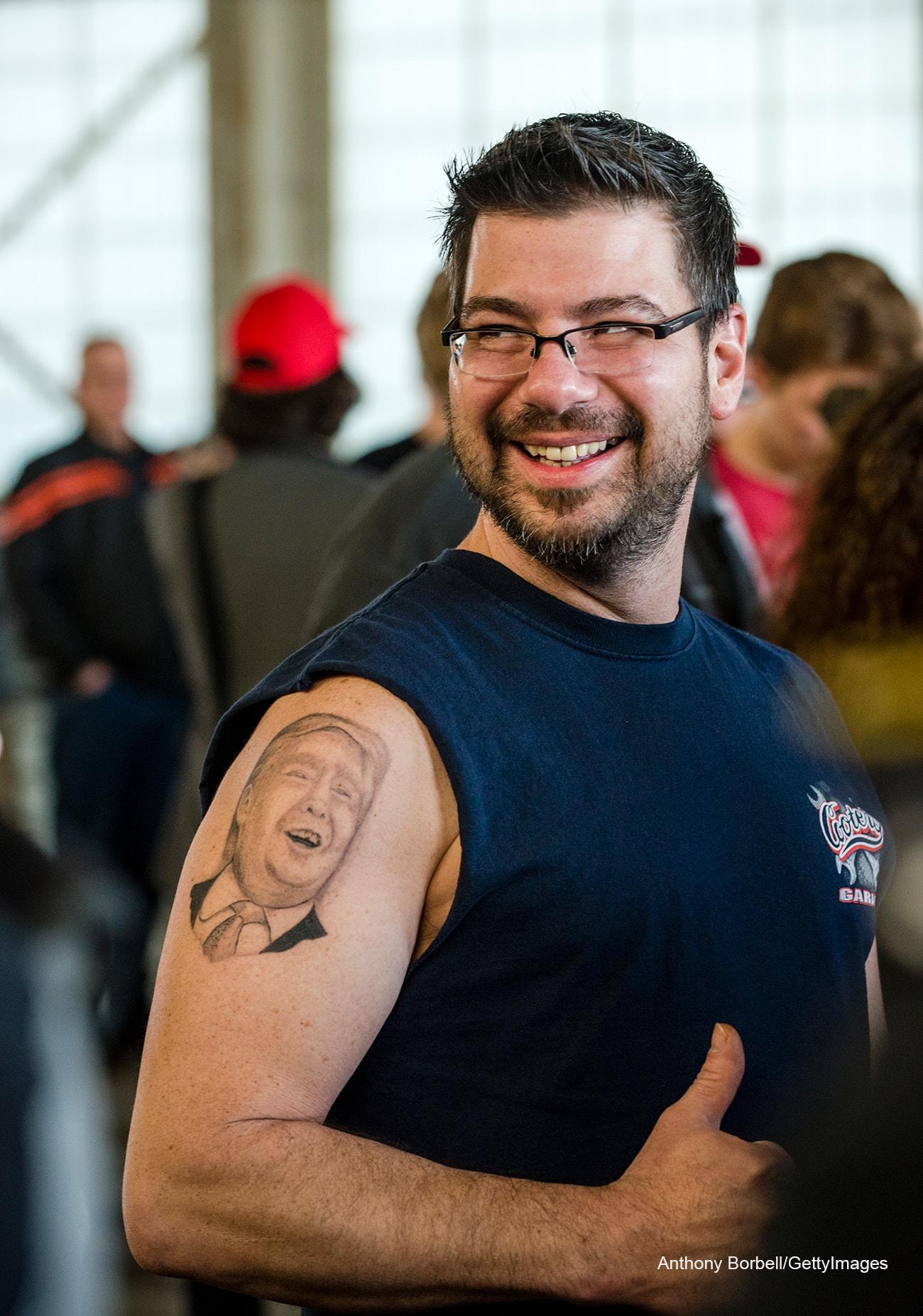 татуировка трамп