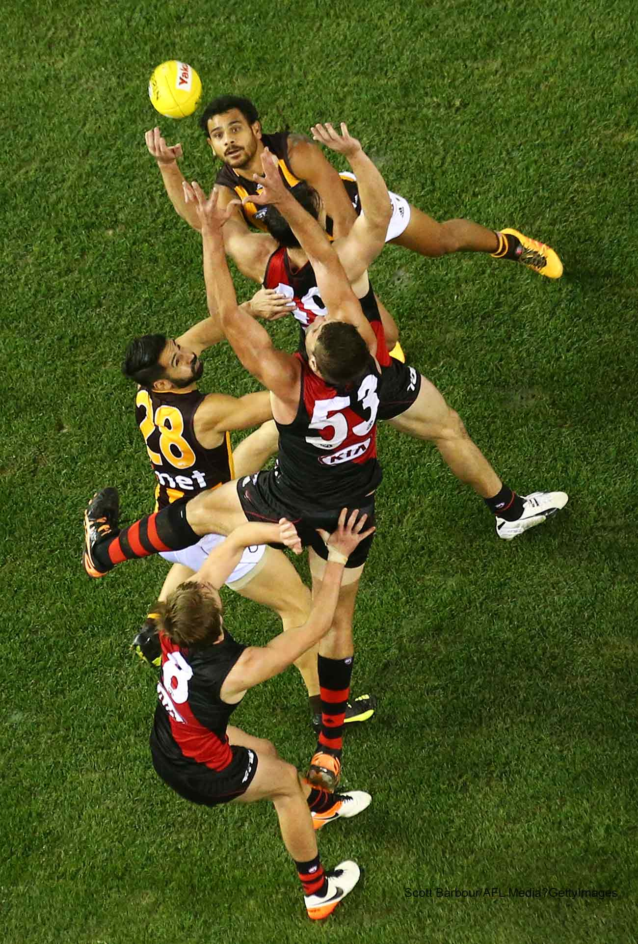 Scott Barbour/AFL Media/GettyImages