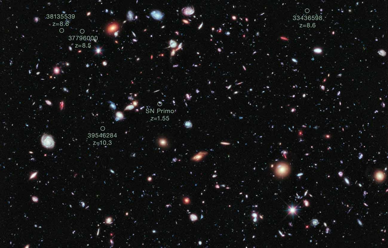 Hubbel_XDF_&_distant_galaxies
