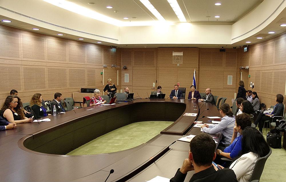 Заседание Кнессета 1