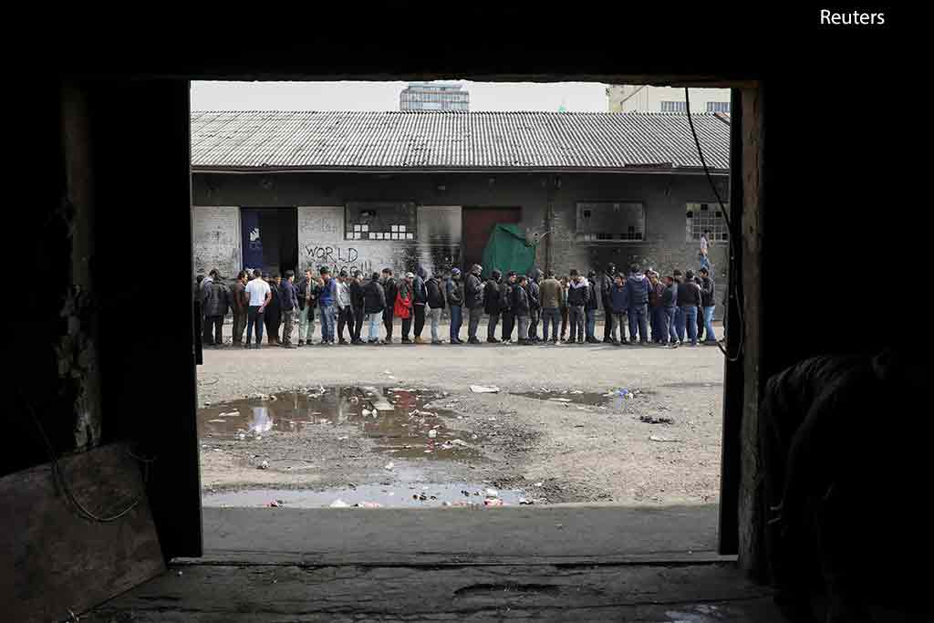мигранты Сербия