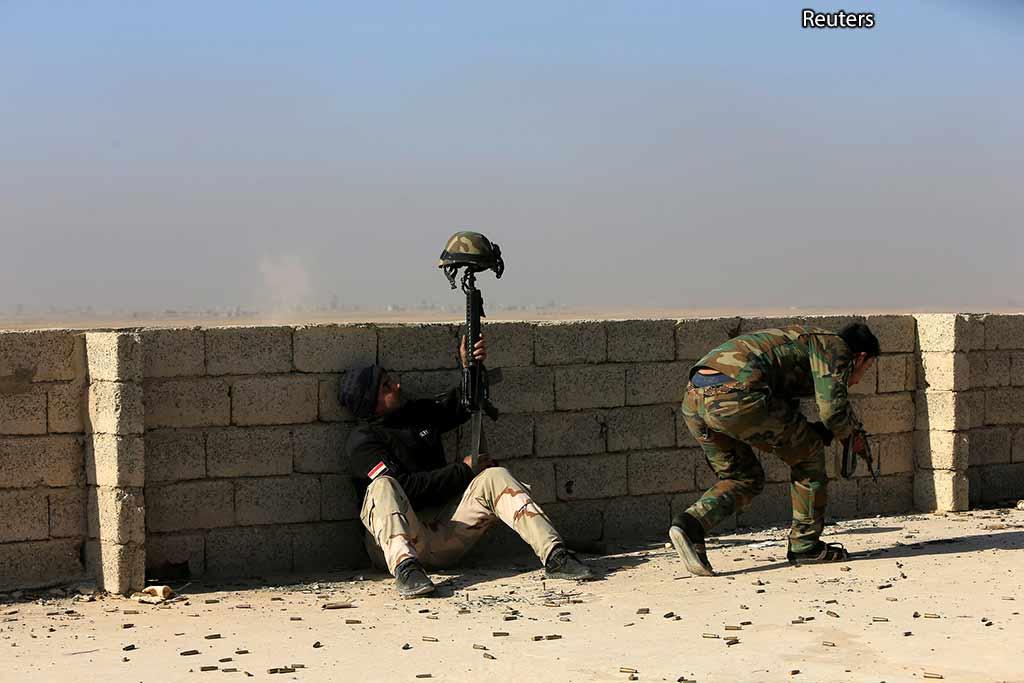 Война снайперов в Мосуле