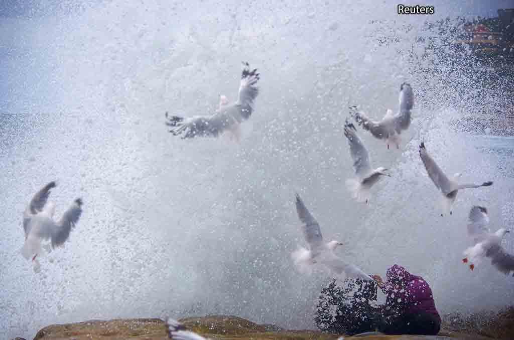 Волна в Австралии