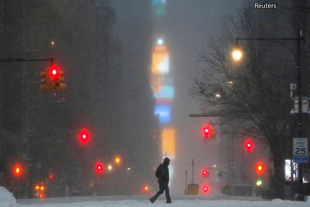 снег Манхэттен