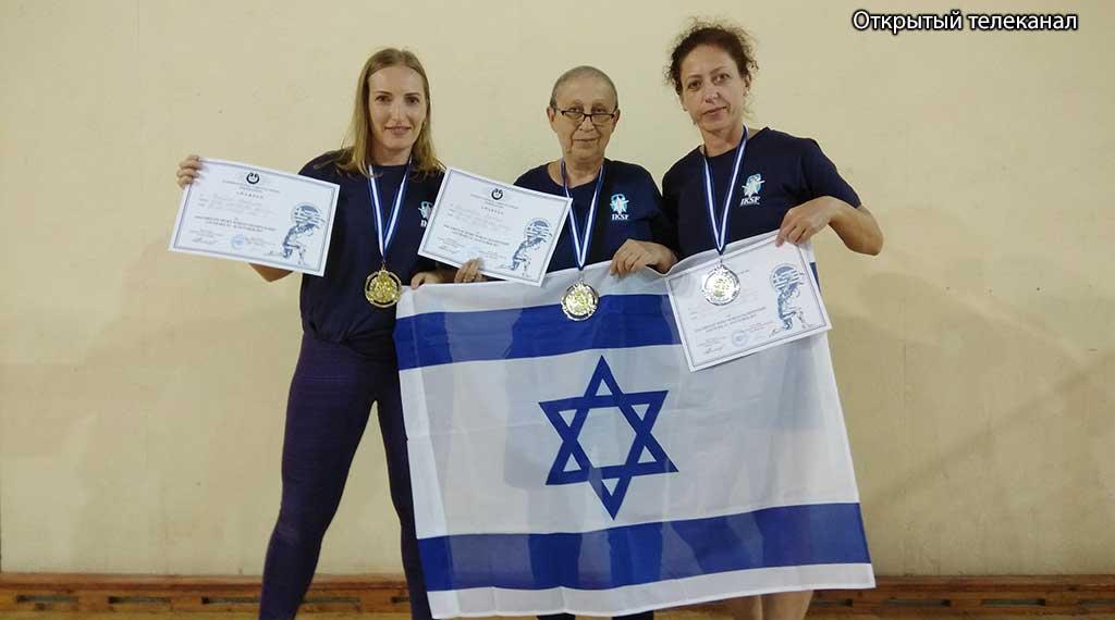 Сборная Израиля по гиревому спорту