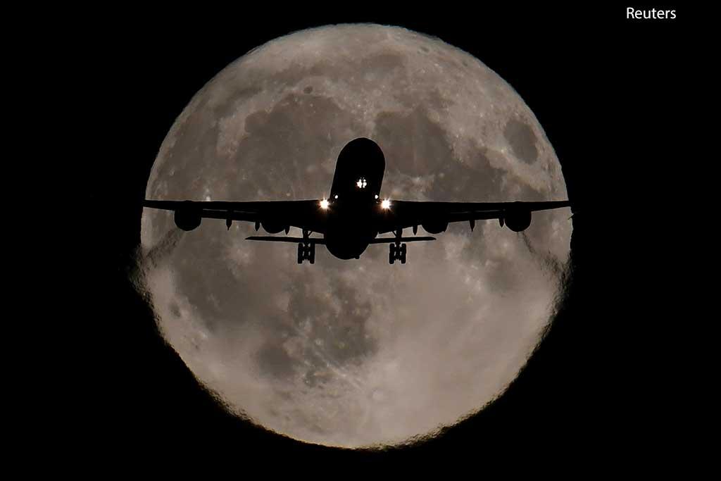 самолет, Хитроу