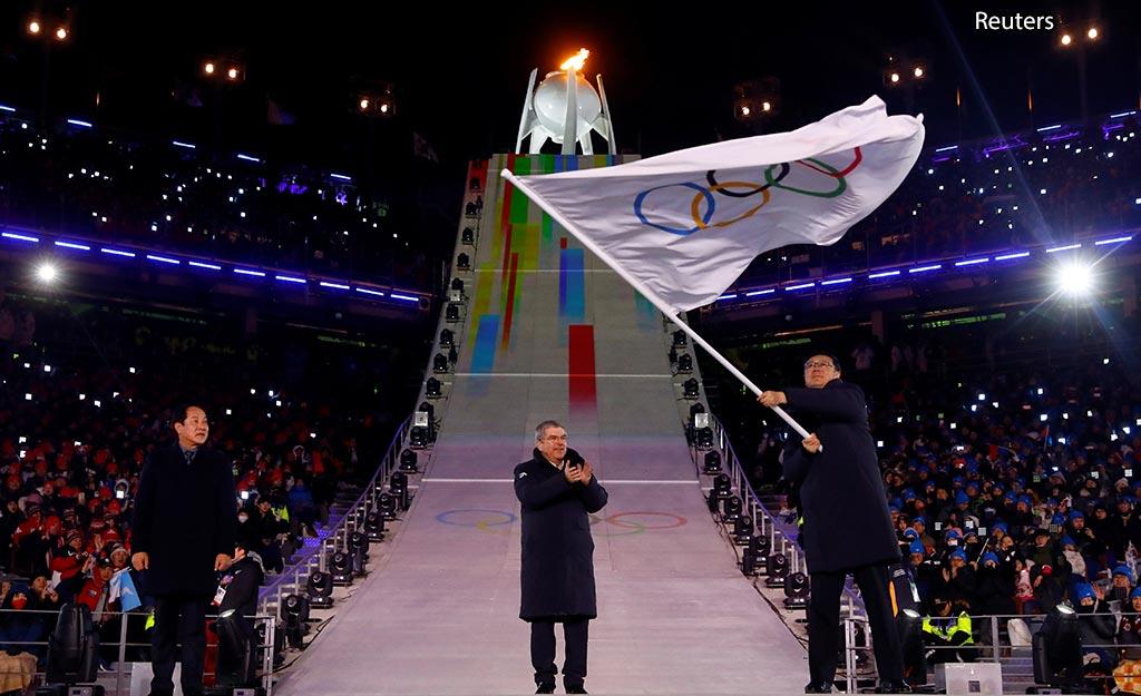 закрытие олимпиады 2018